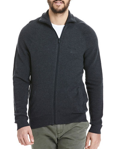 Bench Knit Zip-Up Jacket-BLACK MARL-Large 88778591_BLACK MARL_Large