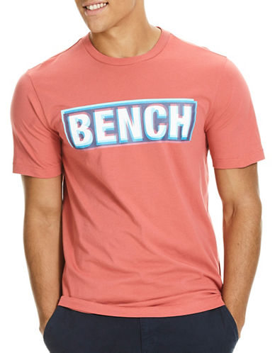 Bench 3D Logo T-Shirt-RED-Medium 88998769_RED_Medium