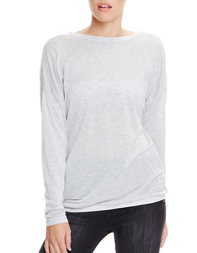 Bench Drape Back Heathered Tee-SUMMER GREY MARL-Medium 89040960_SUMMER GREY MARL_Medium