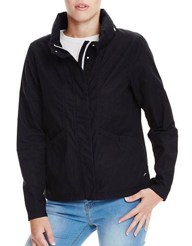 Bench Easy Cotton Jacket-BLACK BETTY-Medium