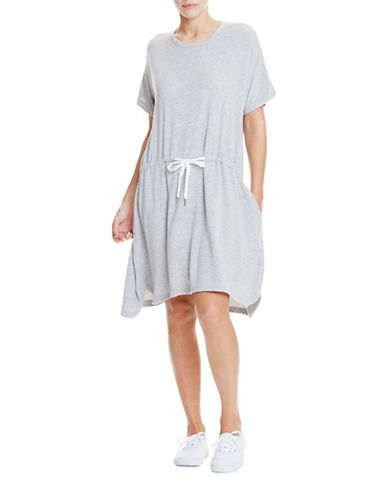 Bench Marl T-Shirt Dress-SUMMER GREY MARL-Large 89040991_SUMMER GREY MARL_Large
