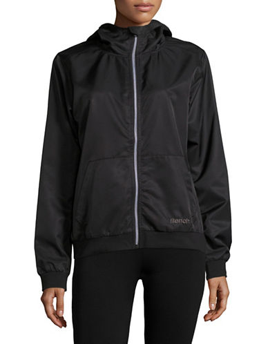 Bench Lightweight Hooded Bomber-BLACK BETTY-X-Small 89106194_BLACK BETTY_X-Small