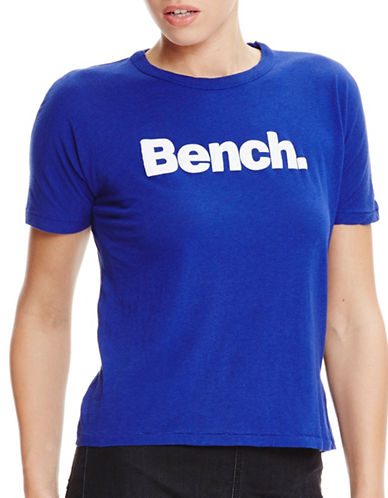Bench Grown On Sleeve Corp T-Shirt-YVES BLUE-Small 89106140_YVES BLUE_Small
