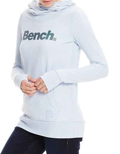 Bench Corp Glitter Hoodie-ZEN BLUE-X-Small 89106124_ZEN BLUE_X-Small