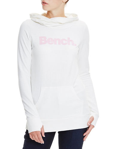 Bench Corp Glitter Hoodie-BRIGHT WHITE-X-Small 89106119_BRIGHT WHITE_X-Small