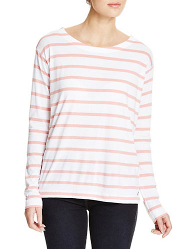 Bench Brio Long Sleeve Top-APRICOT MARL-Medium 88859506_APRICOT MARL_Medium