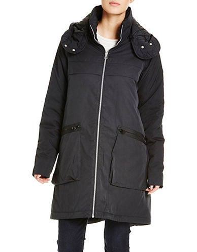 Bench Get Up and Go Hooded Jacket-JET BLACK-X-Small 88861636_JET BLACK_X-Small