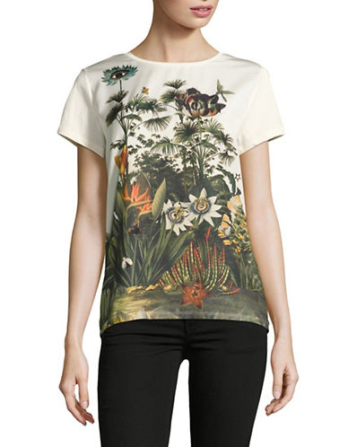 Maison Scotch Photoprint T-Shirt-WHITE-Medium 89178906_WHITE_Medium