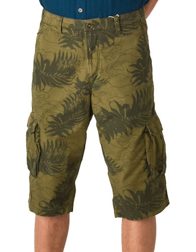 Esprit Pocketed Woven Shorts-GREEN-34