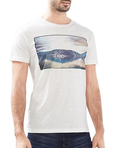 Esprit Slubyarn Short Sleeve Tee-WHITE-Medium 89067054_WHITE_Medium
