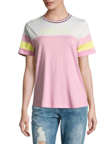 Bench Colourblock T-Shirt-LEMON VERBENA-Small