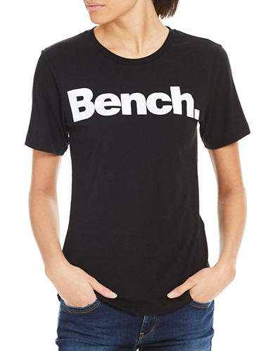 Bench Core Logo Tee-BLACK-X-Small 89298218_BLACK_X-Small