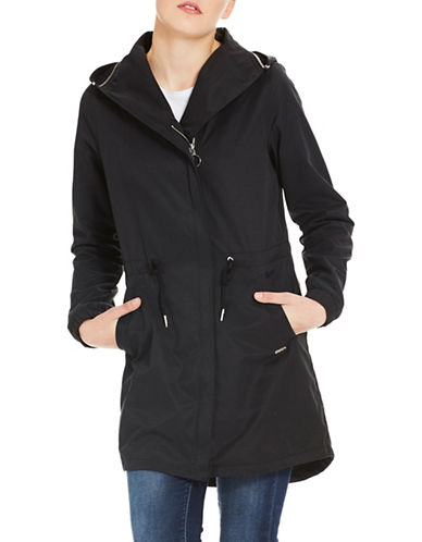 Bench Feminine Hooded Coat-BLACK-Large