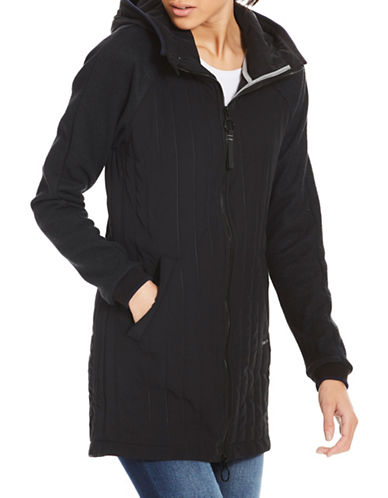 Bench Mix Media Slim-Fit Jacket-BLACK-Large