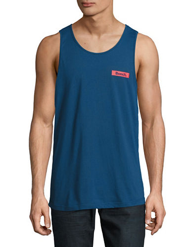 Bench Logo Tank Top-BLUE-Medium 89196094_BLUE_Medium