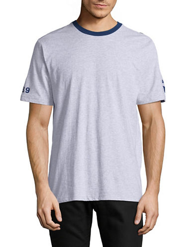 Bench Graphic Sleeve T-Shirt-GREY-Large 89272987_GREY_Large