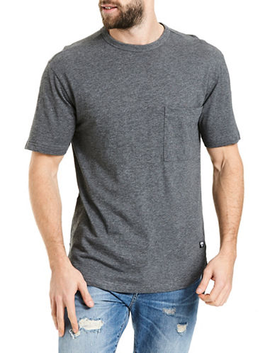 Bench Modern Knit Tee-GREY-Small