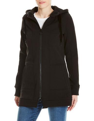Bench Long Zip Hoodie-BLACK-Medium