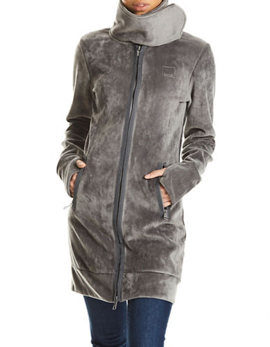 Bench Long Fleece Jacket-GREY-X-Large 89724571_GREY_X-Large