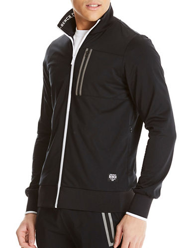 Bench Contrast Track Jacket-BLACK-Small