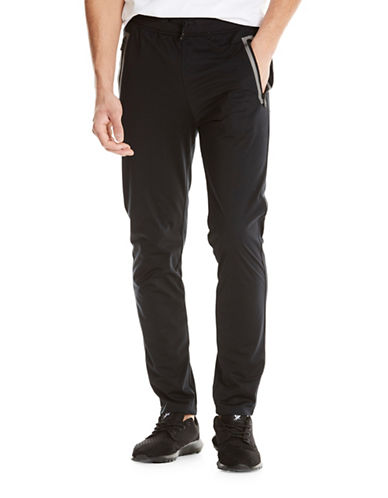 Bench Reflective Drawstring Sport Pants-BLACK-X-Large