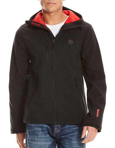 Bench Fleece-Lined Hooded Jacket-BLACK-X-Large 89492049_BLACK_X-Large