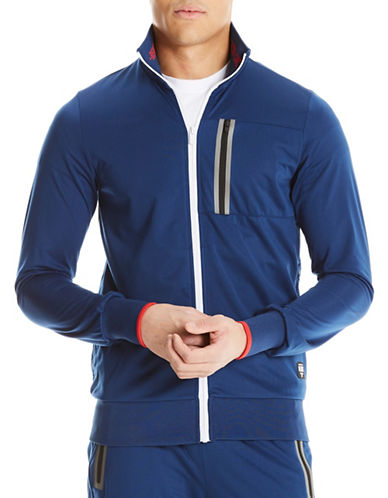 Bench Zip-Up Trainer Jacket-BLUE-Large