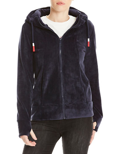 Bench Fleece Hoodie-BLUE-X-Large