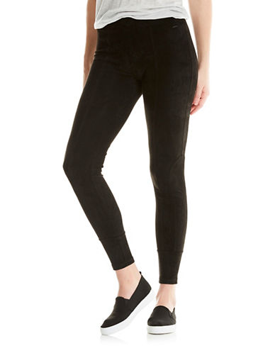 Bench Velour Leggings-BLACK-Medium 89472407_BLACK_Medium