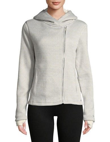 Bench Bonded Fleece Jacket-GREY-Large