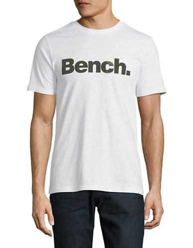 Bench Corp Cotton Tee-WHITE-Medium