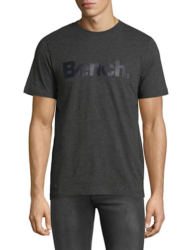 Bench Corp Cotton Tee-GREY-X-Large