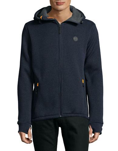 Bench Bonded Hoody Jacket-BLUE-Medium