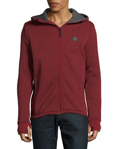 Bench Bonded Hoody Jacket-RED-Small