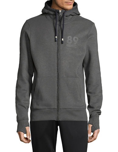 Bench Heritage Zip Hoodie-GREY-Small 89627239_GREY_Small