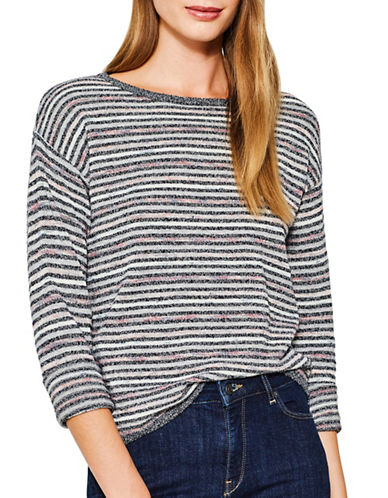 Esprit Stripe Sweater-BLUE MULTI-Medium