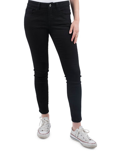 Esprit Cropped Skinny Jeans-BROWN-26