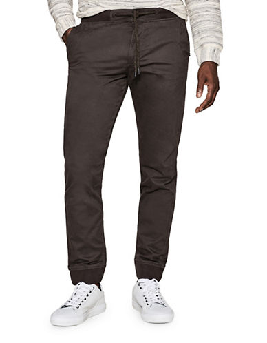 Esprit Woven Drawstring Pants-GREY-X-Large 89494912_GREY_X-Large
