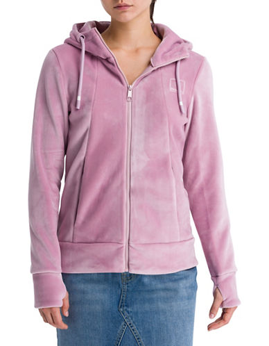 Bench Long Hoodie-PINK-Small