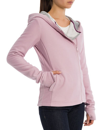 Bench Bonded Hooded Jacket-PINK-Small
