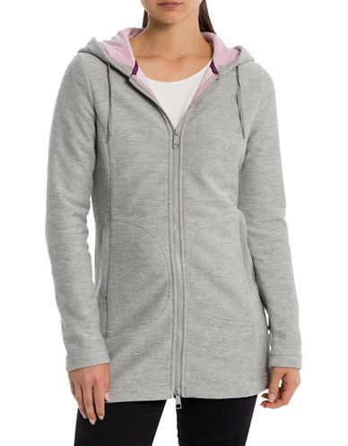 Bench Bonded Hooded Jacket-GREY-X-Small