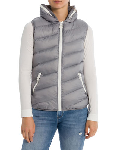Bench Core Puffer Vest-GREY-Large