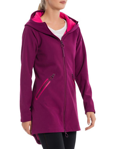 Bench Slim Hooded Jacket-PURPLE-X-Small