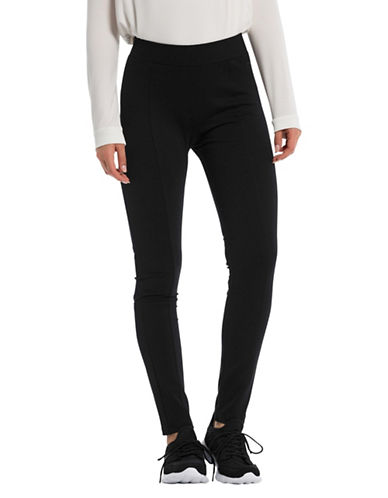 Bench Panelled Leggings-BLACK-X-Small