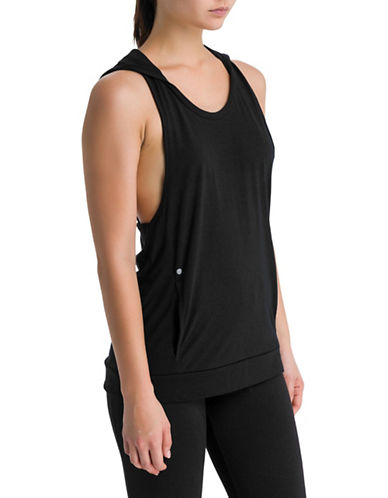 Bench Hooded Tank Top-BLACK-Small 89988199_BLACK_Small