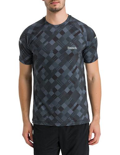 Bench Active Mesh Short Sleeve Tee-BLACK-X-Large 89998356_BLACK_X-Large