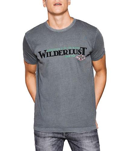 Esprit Wilderlust Cotton Jersey T-Shirt-GREY-Medium