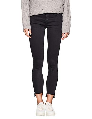 Esprit Step Hem Skinny Jeans-BLACK-42