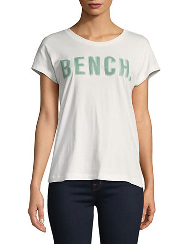 Bench New Logo Short-Sleeve Tee-WHITE-X-Small 89988118_WHITE_X-Small