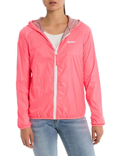 Bench Core Easy Windbreaker-NEON PINK-X-Small 89988148_NEON PINK_X-Small